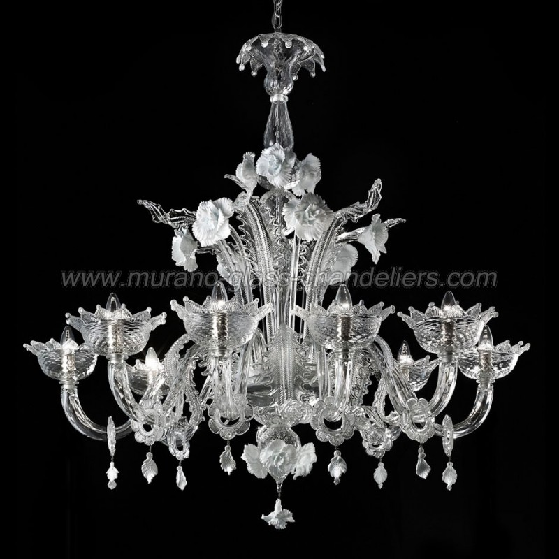 scarpa murano chandelier carlo grey by chandeliers mid clear glass italian century