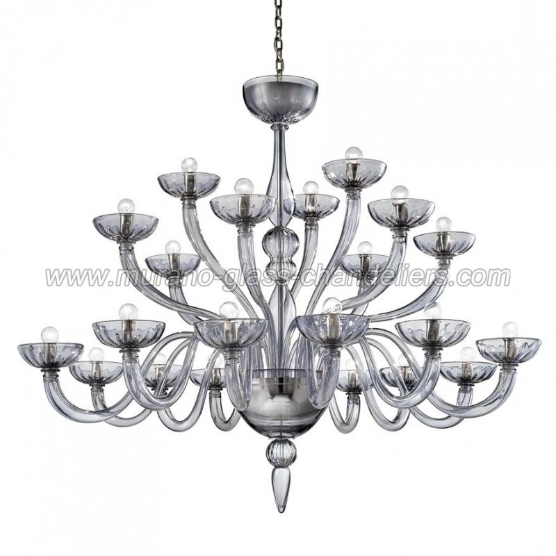 Murano glass chandeliers – Grey Chandelier